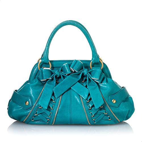 Isabella Fiore Tied Up Harlow Satchel Handbag