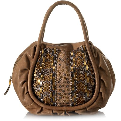 Isabella Fiore Valentina Satchel Handbag