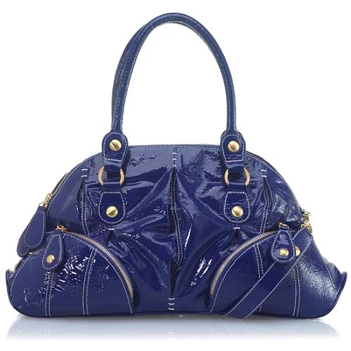 Isabella Fiore Zip It Ada Satchel Handbag