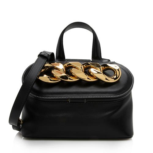 JW Anderson Leather Small Chain Lid Bag