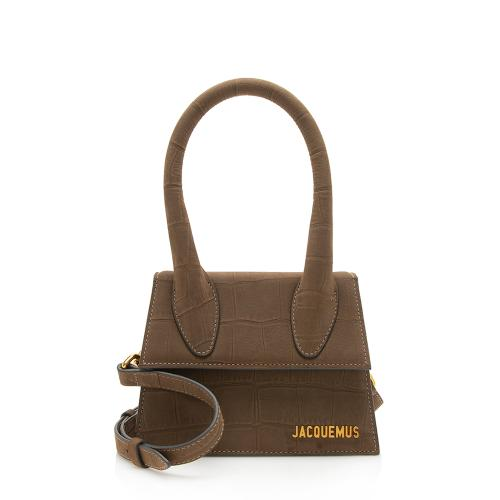 Jacquemus Embossed Leather Le Chiquito Moyen Small Bag