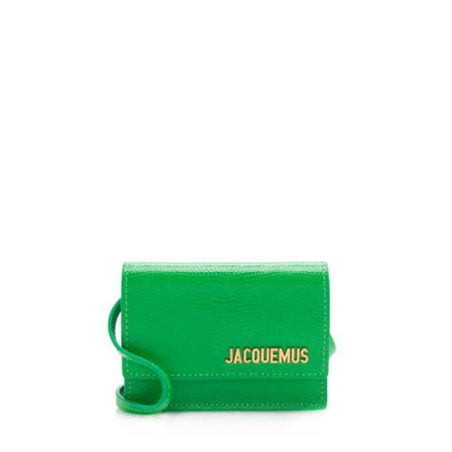 Jacquemus Leather Le Bello Crossbody Bag