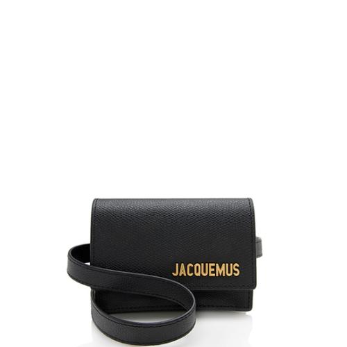 Jacquemus Leather Le Ceinture Bello Belt Bag