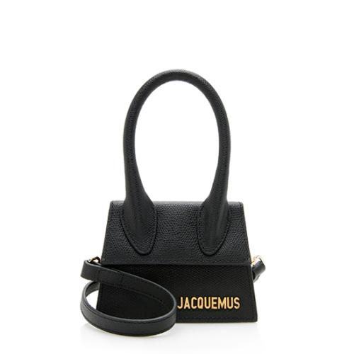 Jacquemus Leather Le Chiquito Micro Bag