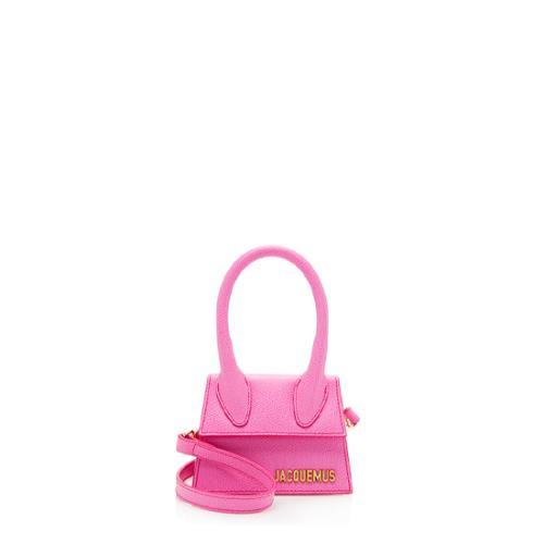 Jacquemus Leather Le Chiquito Micro Bag