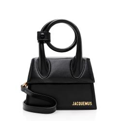 Jacquemus Leather Le Chiquito Noeud Bag