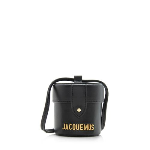 Jacquemus Leather Le Vanity Mini Bag