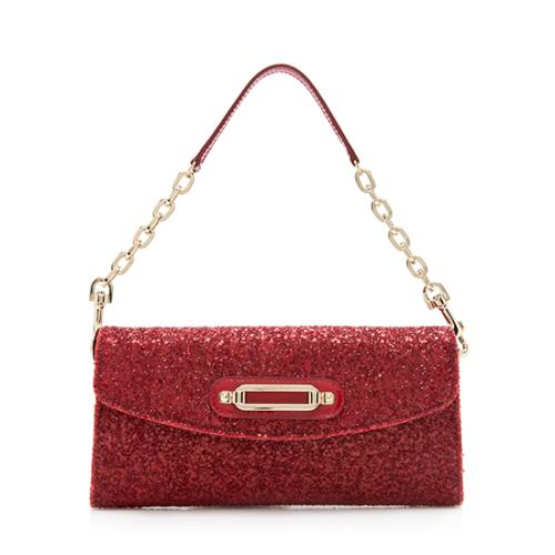 Jimmy Choo Glittered Nini Clutch