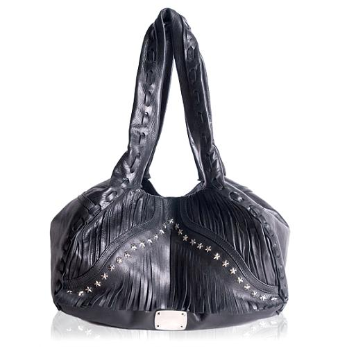 Jimmy Choo Isola Shopper Shoulder Handbag