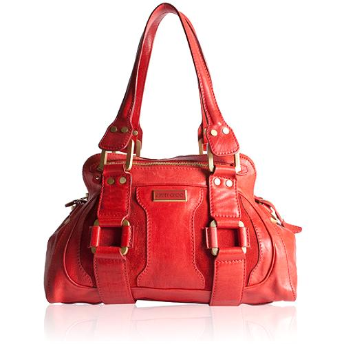 Jimmy Choo Malena Satchel Handbag