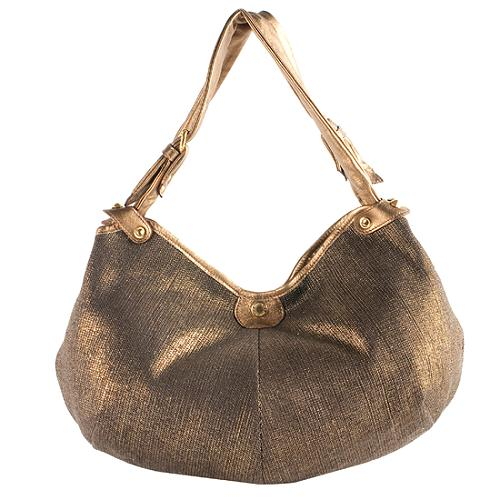 c1d83520a62 Jimmy Choo Metallic Canvas 'Oracle' Hobo Handbag