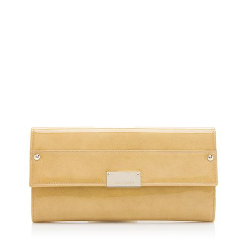 Jimmy Choo Patent Leather Reese Clutch