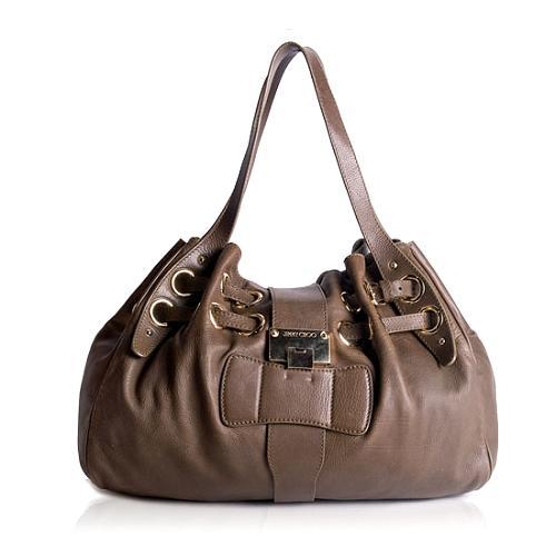Jimmy Choo Riki Satchel Handbag