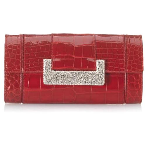 Judith Leiber Brilliant Alligator Evening Handbag - FINAL SALE