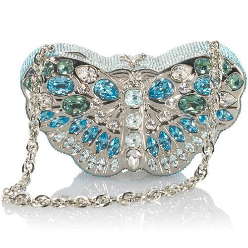 Judith Leiber Crystal Butterfly Evening Bag
