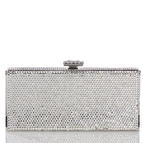 Judith Leiber Crystal Slender Curve Evening Clutch