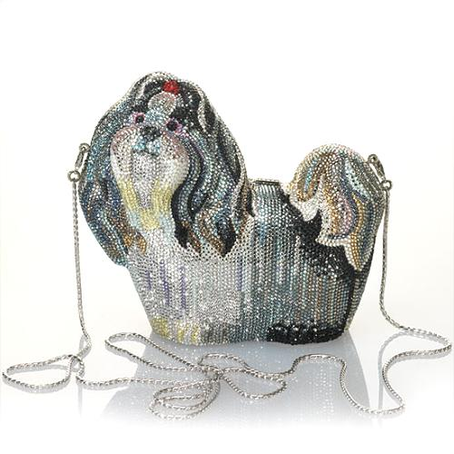 Judith Leiber Dog Clutch