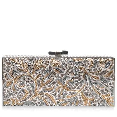 Judith Leiber Large Channel Rectangle Minaudiere
