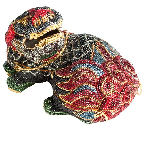 Judith Leiber Limited Edition Chinese Foo Dog Clutch