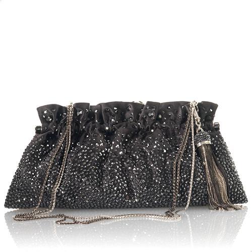 Judith Leiber Rebecca Rounded Rectangle Evening Shoulder Handbag