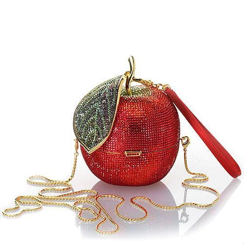 Judith Leiber Red Delicious Evening Handbag