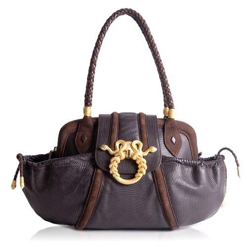 Rachel Zoe for Judith Leiber Medusa Shoulder Handbag
