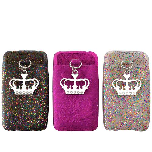 Juicy Couture 3 Pack Glitter iPhone Cases