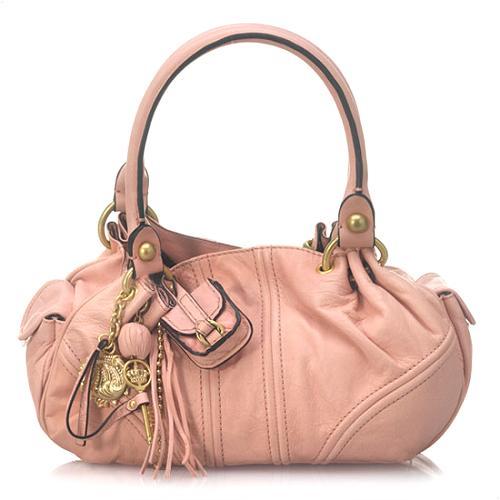Juicy Couture Baby Fluffy Satchel Handbag
