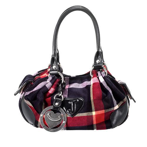 Juicy Couture Baby Fluffy Velour Satchel Handbag