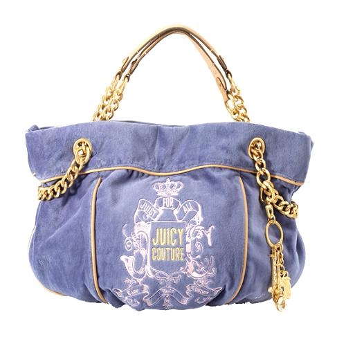 Juicy Couture Bling Chain Hobo Handbag