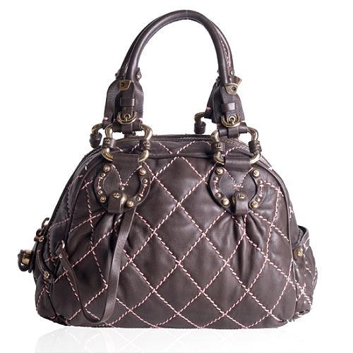Juicy Couture Bowler Satchel Handbag