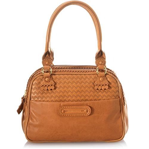 Juicy Couture Brogue Modern Queen Satchel Handbag