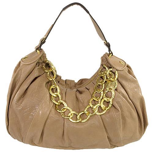 Juicy Couture Chain Hobo Handbag