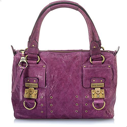 Juicy Couture China C Leather Handbag
