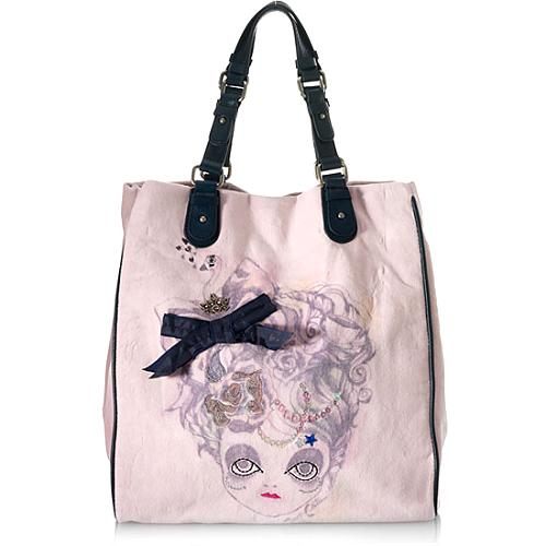 Juicy Couture Doll Face Tote