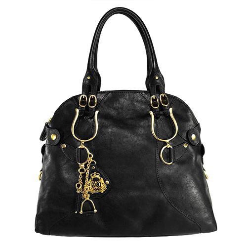 Juicy Couture Equestrian Large Bowler Handbag