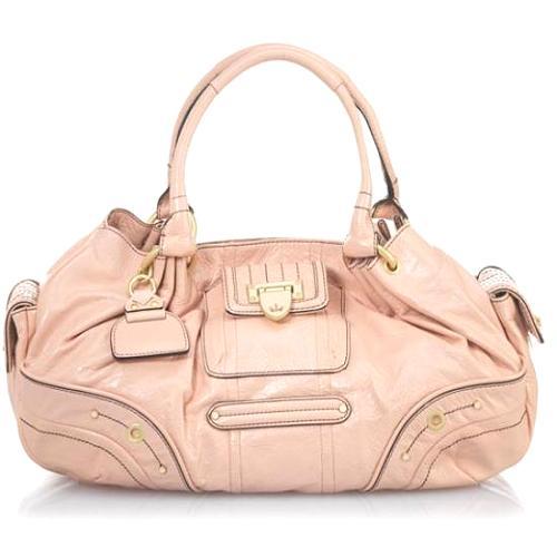 Juicy Couture Flap Lock Fluffy Satchel Handbag - FINAL SALE