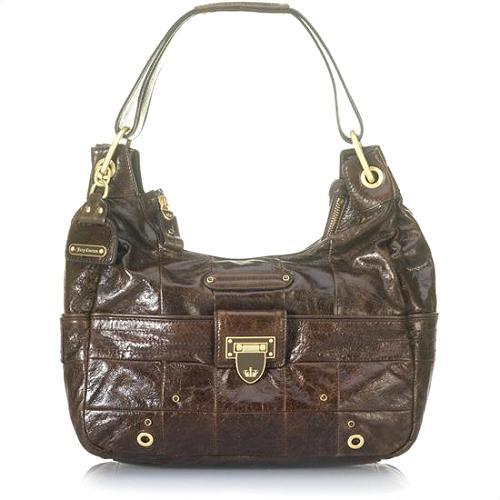 Juicy Couture Flap Lock Hipster Handbag