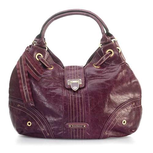 Juicy Couture Flap Lock Large Flagship Handbag