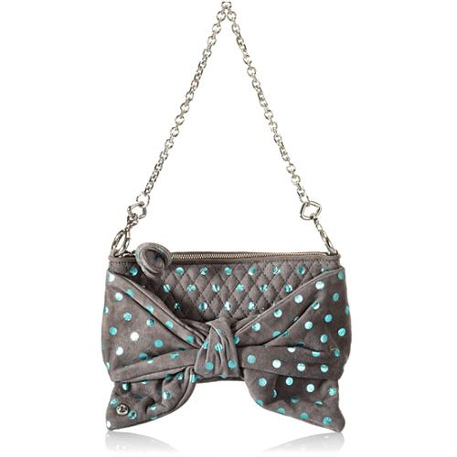 Juicy Couture Flirty Suede Clutch