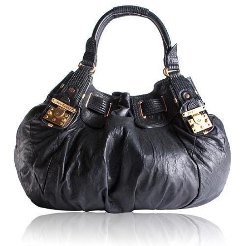 Juicy Couture Freestyle Leather Hobo Handbag