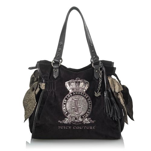 Juicy Couture Graphic Velour Ms. Daydreamer Tote