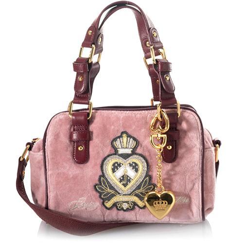 Juicy Couture Heart Jacquard Darling Crossbody Handbag
