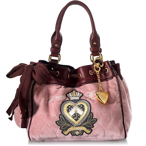 Juicy Couture Heart Jacquard Day Dreamer Tote