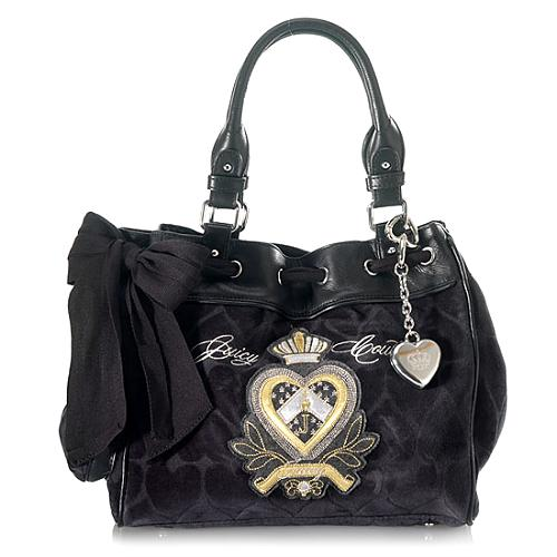 Juicy Couture Heart Jacquard Daydreamer Tote
