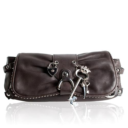 Juicy Couture Hearts & Key Clutch