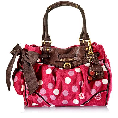 Juicy Couture I Love Dotty Daydreamer Tote
