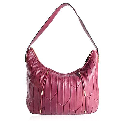 Juicy Couture JC Houndstooth Peony Hobo Handbag