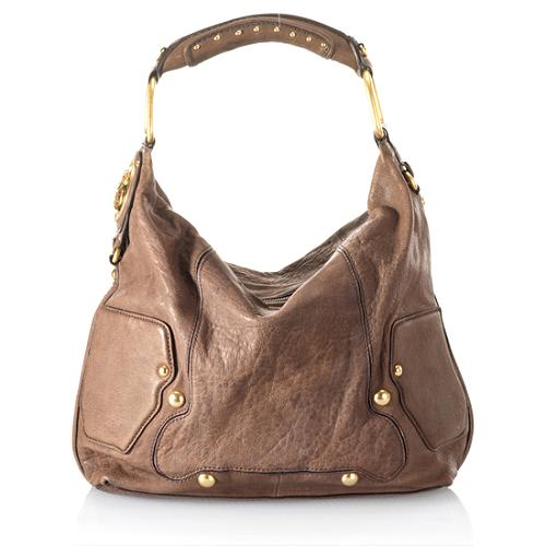 Juicy Couture JC Medallion 90 Percent Couture Hobo Handbag