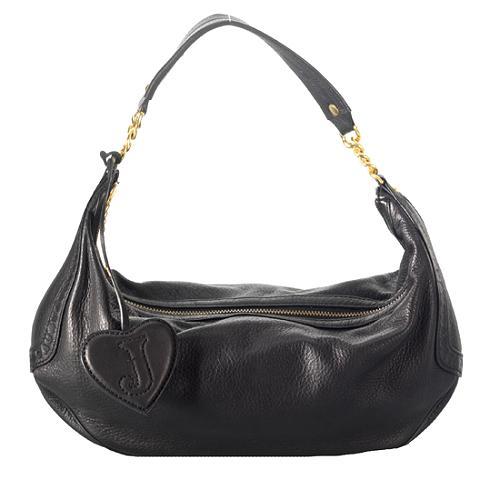 Juicy Couture Jute Superstar Hobo Handbag